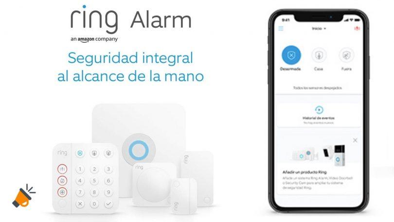 oferta Ring Alarm de Amazon barato SuperChollos