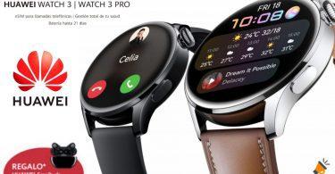 oferta Huawei Watch 3 baratos SuperChollos
