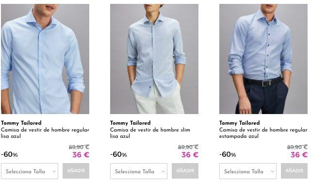 Camisas Tommy Hilfiger baratas2 SuperChollos