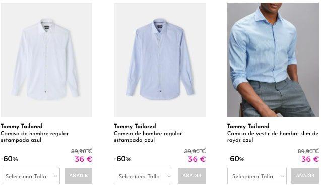 Camisas Tommy Hilfiger baratas3 SuperChollos