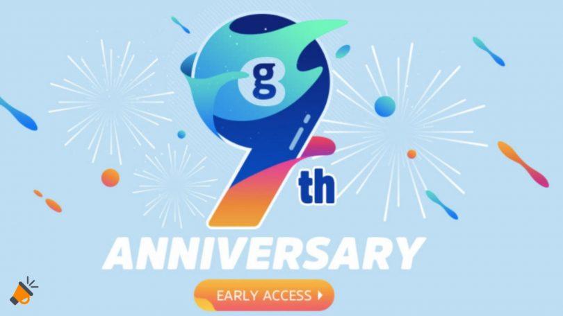 ofertas aniversario geekbuying SuperChollos