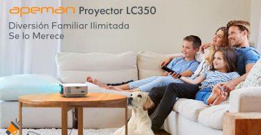 oferta proyector Apeman LC350 barato SuperChollos