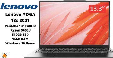 oferta Lenovo YOGA 13s 2021 barato SuperChollos