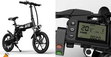 oferta Bicicleta ele%CC%81ctrica ADO A16 barata SuperChollos