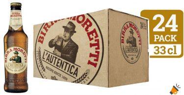 oferta moretti cerveza lager barata SuperChollos