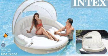 oferta Isla hinchable Intex Canopy barata SuperChollos