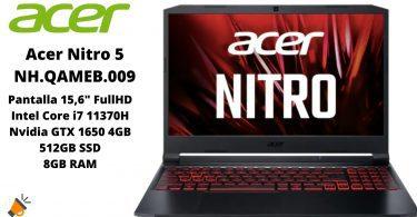 oferta Acer Nitro 5 NH.QAMEB .009 barato SuperChollos