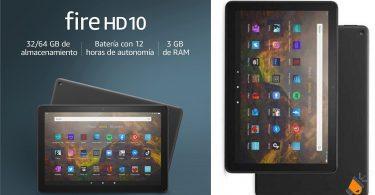 oferta tablet Fire HD 10 barata SuperChollos