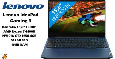 oferta Lenovo IdeaPad Gaming 3 barato SuperChollos