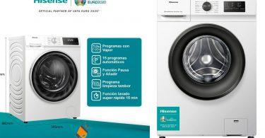 oferta Hisense WFVC6010E Lavadora barata SuperChollos