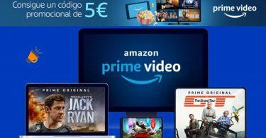 amazon video 5 euros gratis SuperChollos