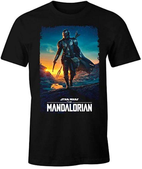 Camiseta The Mandalorian barato SuperChollos