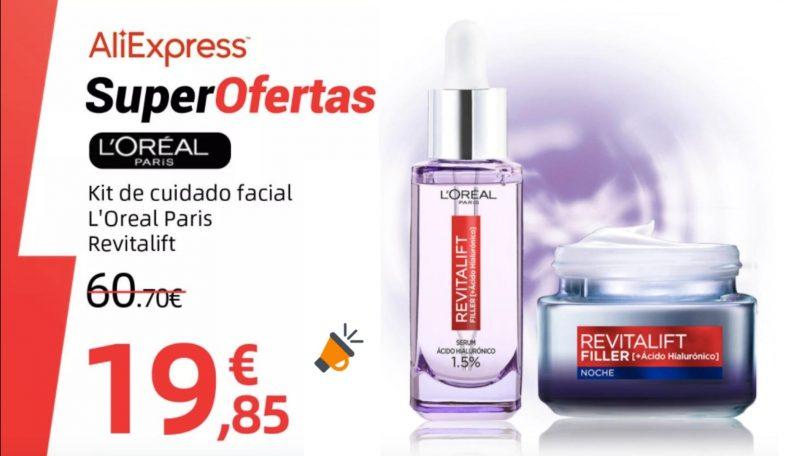 oferta Pack LOre%CC%81al Paris Revitalift Filler barato SuperChollos