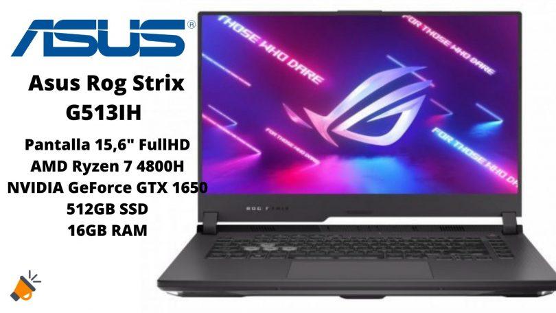 oferta Asus Rog Strix G513IH barato SuperChollos