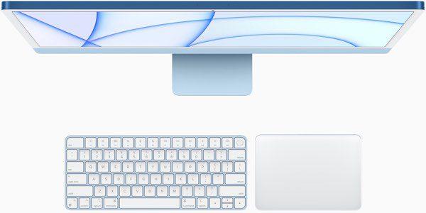 imac 2021 teclado touchpad colores SuperChollos