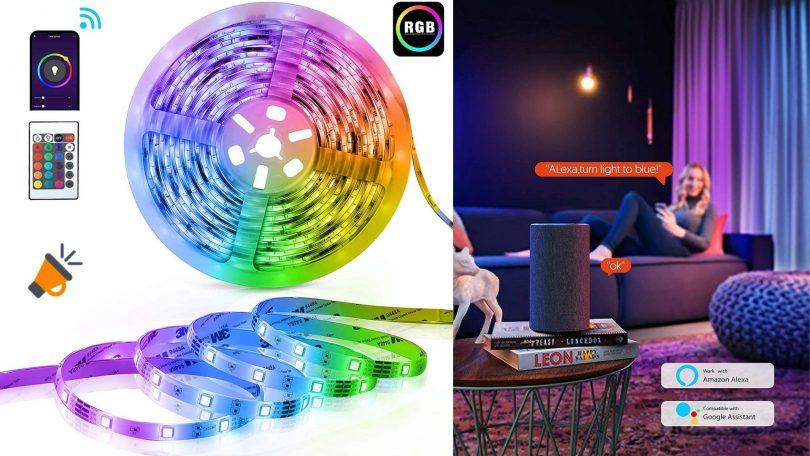oferta Tira LED TECKIN barata 1 SuperChollos