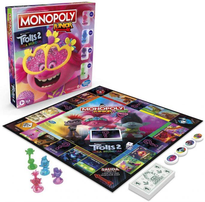 Monopoly Junior Trolls 2 barato SuperChollos
