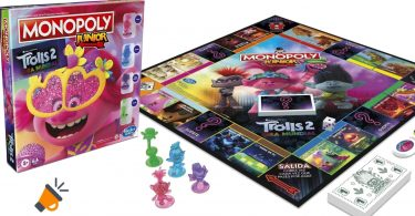 oferta Monopoly Junior Trolls 2 barato SuperChollos