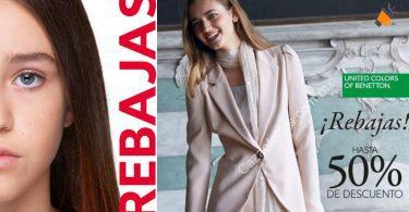 ofertas REBAJAS BENETTON SuperChollos