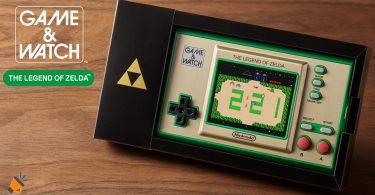 oferta Game Watch The Legend of Zelda barata SuperChollos