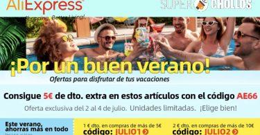 aliexpress ofertas verano SuperChollos