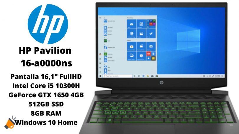 oferta HP Pavilion 16 a0000ns barato SuperChollos