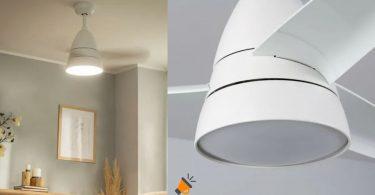 oferta Ventilador de Techo LED Industrial barato SuperChollos
