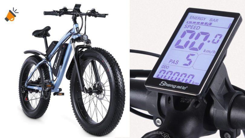 oferta Shengmilo Bicicleta ele%CC%81ctrica barata SuperChollos