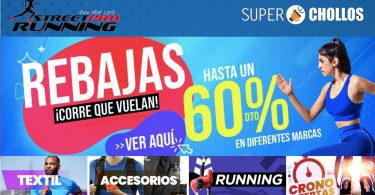 rebajas streetprorunning SuperChollos