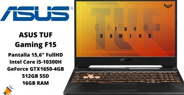 oferta ASUS TUF Gaming F15 barato SuperChollos