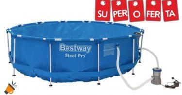 oferta Piscina Bestway Steel Pro barata SuperChollos