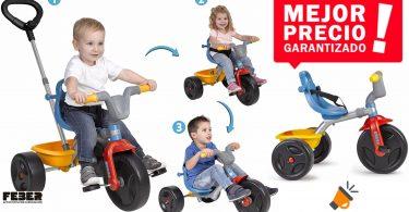 oferta Triciclo Feber Evo Trike barato SuperChollos