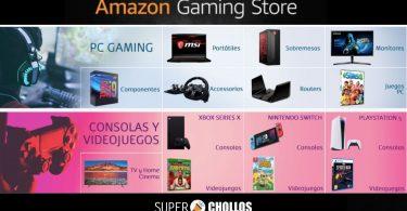 ofertas amazon gaming store SuperChollos