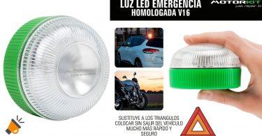 oferta Motorkit Luz magne%CC%81tica LED de Emergencia barata SuperChollos