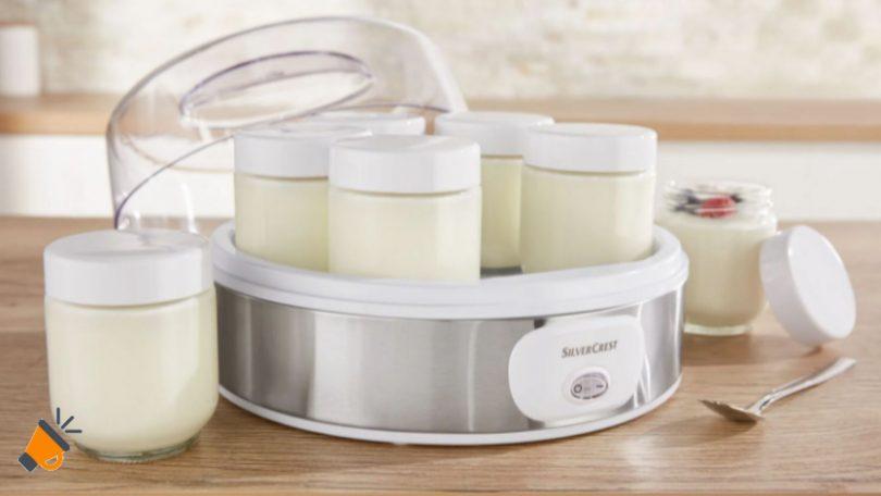 oferta Yogurtera Silvercrest Lidl barata SuperChollos