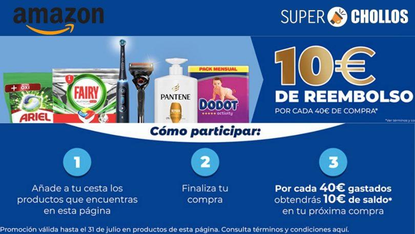 amazon 10E reembolso 1 SuperChollos