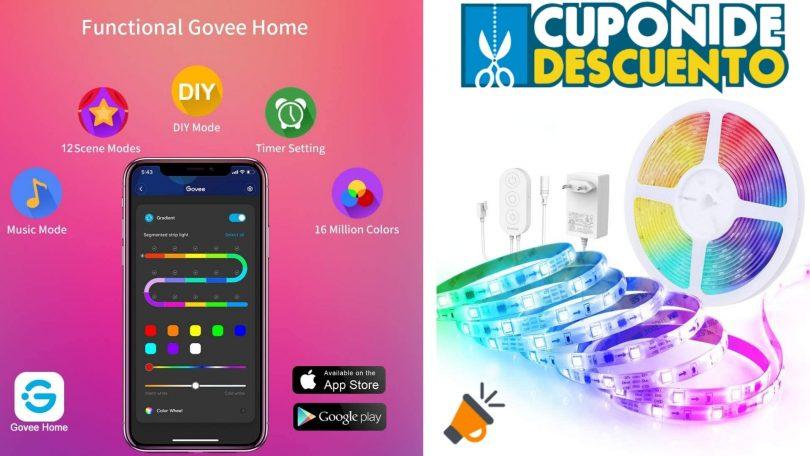 oferta Govee Tira LED barata 1 SuperChollos