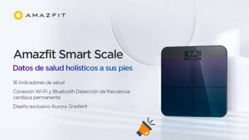 oferta Amazfit Smart Scale barata SuperChollos