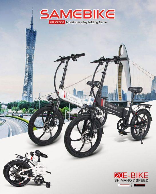 Bicicleta SAMEBIKE 20LVXD30 SuperChollos
