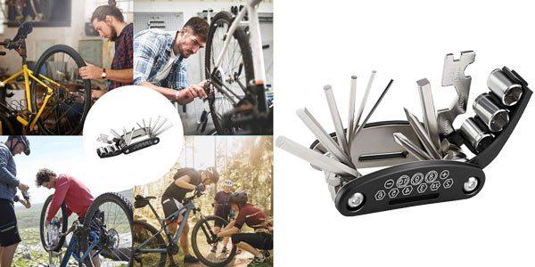 Herramienta multifuncio%CC%81n bicicleta barata SuperChollos
