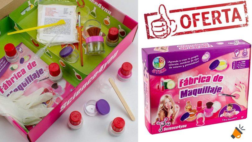 oferta Fa%CC%81brica de Maquillaje Science4you barata SuperChollos
