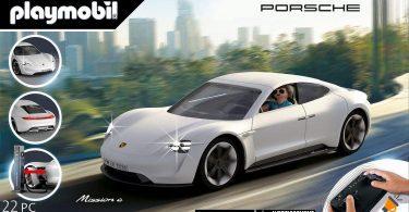 oferta playmobil Porsche Mission E barato SuperChollos