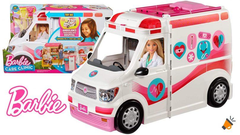 oferta Barbie Ambulancia Hospital barata SuperChollos