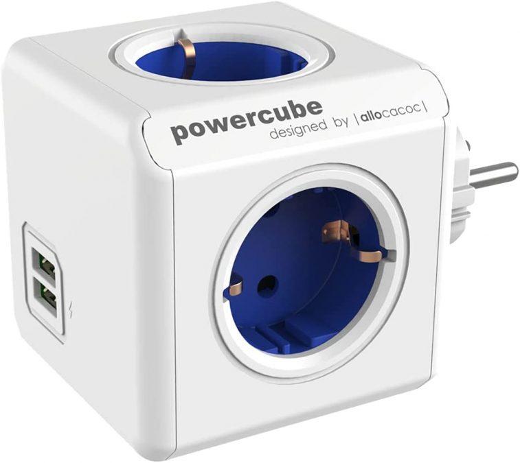 Regleta PowerCube Allocacoc barata SuperChollos