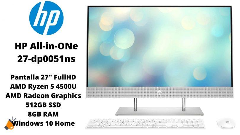 oferta HP All In One 27 dp0051ns barato SuperChollos