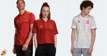 oferta Camiseta Seleccio%CC%81n Espan%CC%83ola Fu%CC%81tbol barata SuperChollos