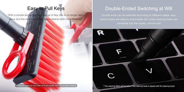 cepillo 4 en 1 limpieza teclados chollo barato SuperChollos