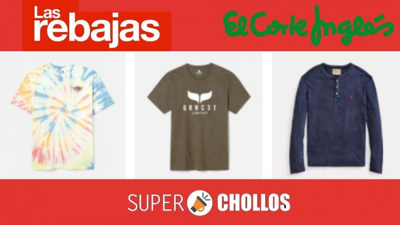 ofertas camisetas corte ingles SuperChollos