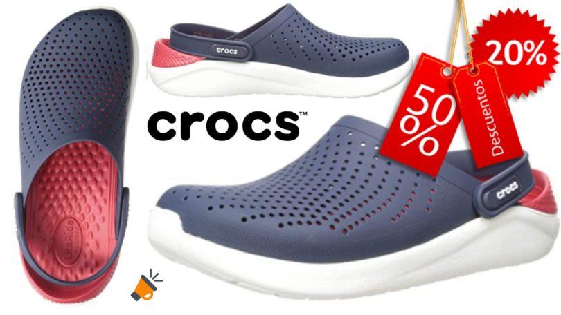 oferta Crocs LiteRide Clog baratos SuperChollos