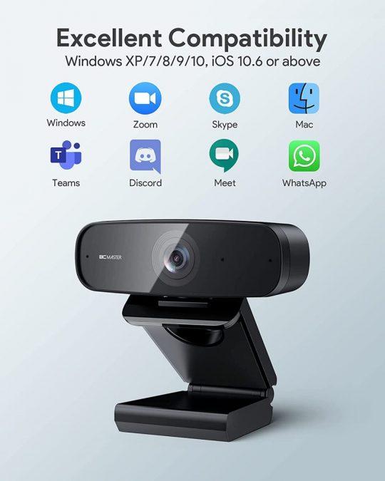 Webcam BCMASTER BCW1 barata scaled SuperChollos
